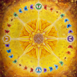 Sunflower Medicine Wheel